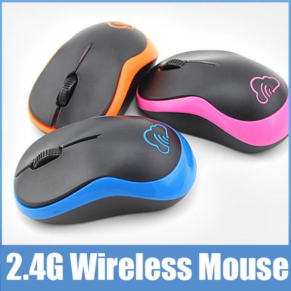 M18 Fashion Original Brand 2.4G Wireless Mouse 3 Buttons 1600DPI Slim Mini Cordless Optical Mice For Computer Mause PC Laptop(China (Mainland))