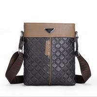 Real genuine leather men's briefcase men bags business men's messenger bag 2015 new shoulder bag ipad small men's travel bags