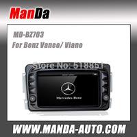 Manda OEM car dvd player for Benz Viano 2004 2005 2006 2007 2008 2009 2010 2011 car dvd auto parts