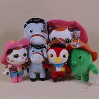 Juguete Sheriff Callie's Wild West Plush Toys Sheriff Callie Cat Horse Stuffed Dolls Birthday gift for Children Kids Baby