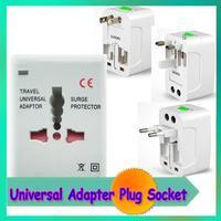 1 piece 2014 Universal Adapter Plug Socket Comverter All in 1 Travel Electrical Power Adapter Plug US UK AU EU