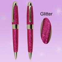 2015 Free shipping Hot sale Fashion New style Glitter Ballpoint Pen