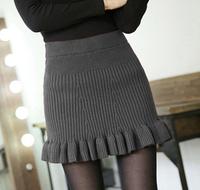 New Arrival Winter Women Skirt Warm Slim Casual Short Pencil Skirts KB424