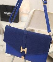 Retro H Hasp PU Leather Women Clutch Handbag Shoulder Tote Sling Envelope Bag Support Dropship Wholesale Price