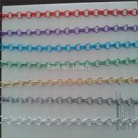 Assorted Aluminum Double Hooks Chain Fly Screen / Aluminum Chain Curtain