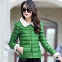jaqueta feminina 2015 Parkas For Women Winter Coat Women jacket Thick Casual Parka Women Slim Coat female Plus Size M-2XL C4D519