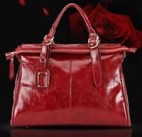 Women Handbag Genuine Leather Bag Cowhide Women Shoulder Bag Women Tassel Handbag Shoulder Bags Vintage Handbag women bag W001