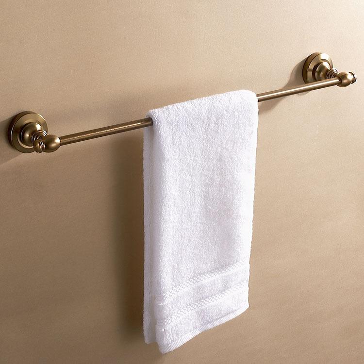 bathroom accessories single towel rack bathroom towel holder-in Towel ...