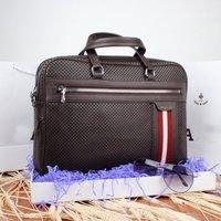 New Arrive Famous Brand Design Genuine Leather Men Bag Fashion Bags For Mens Shoulder Bag Leather Messenger Bag 3Color DHL Free