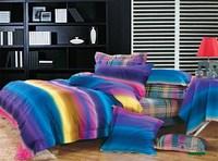 Magical luminous 100% cotton king queen sanding bedding set wedding gift  luxury  bedclothes thick duvet comforter cover  sheet