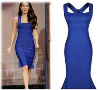 New Arrival 2015 women summer dinner dress, sleeveless elegant vintage Ruffles Slim Spaghetti Strap Evening dress luxury clothes
