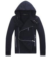 free shipping men's fashion hoodies winter dress men hoody 2014 new brand hoodie coat  T25
