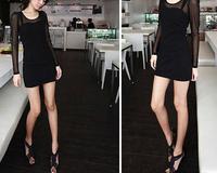 Brand New sexy design Fashion Casual Women Blouses Vintage style Polka Chiffon Blouses full Sleeve Lapel Shirts