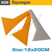 tirangular scaper with long handle old vinyl film clean squeegee industry floor scraper