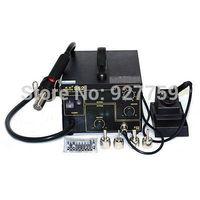 Gordak 952 220V SMD 3in1 Welding Machine Hot Air Solder Rework Station Heat Gun + Electric Soldering Iron