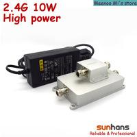 2.4G sunhans outdoor booster 10w wireless signal repeater(SH24Go10W)