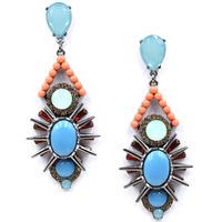 New 2015 women statement earring fashion rivet stud Earrings for women jewelry factory price wholesale unique earrings