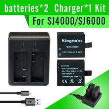 Kingma Original SJ4000 3.7V Li-on 900mAh Backup Rechargable Battery For SJ4000 and SJ6000.SJ4000 battery(China (Mainland))