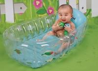 Baby bathtub inflatable newborn baby bathtub Large infant children bath tub