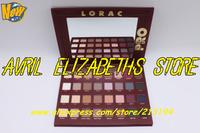 6pc/lot New Lorac Mega Pro Palette 32 Color Eye Shadow Palette 17.6g  Makeup Eyeshaodw Free Shipping