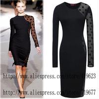 Bodycon Dress Evening Party Vestidos Casual Free Shipping Vestido De Festa Roupas Femininas Black Office Dress ladies dress