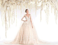 unique designer new Appliqued new style wedding dress suits for men With Bridal Gown for winter 2015 RR-065