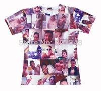 2015 New high quality Women's Men's Short Sleeve T shirt Fashion James 3D t shirt S M L XL XXL