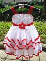 New Christening Dress,baby Baptism dress,Spaghetti straps Bead Flower Girl Dress For Wedding Birthday Party Princess Dress