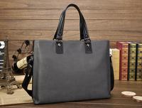 New Arrival Men Double Design Bag Fashion Messenger Bag Top Grade Brand Genuine Leather Men's Shoulder Bag