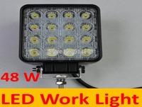 48W LED work lights / car lamp / off-road lights / off-road lamp Square shape