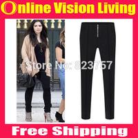 Plus Size S M L XL XXL 3XL Hi-Q 2015 Fashion Slim OL Pants Pencil Trousers boot pants Good Look Women Elastic Pants A0712