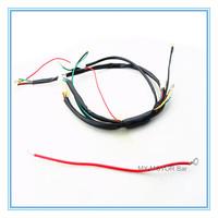 Wire kit for Kick & Electric Start 50cc/70cc/90cc/110cc/125cc E & K Dirt Bike/Faisceaux electrique Dirt bike/Free shipping