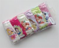 Fashion Hot 6pcs/lot frozen new children panties frozen underwear children panties(3-13years)