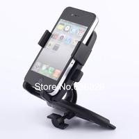 Black Universal Smart Car Dashboard Mobile Mount Car Stand Phone Holder Phone GPS Car CD Slot Dock Dash Mount Holder Cradle