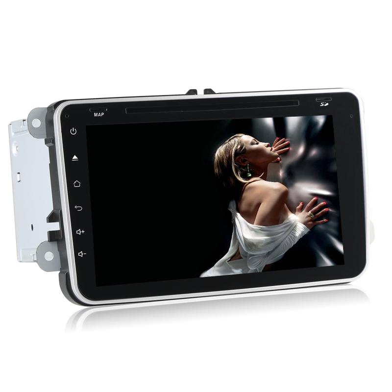 2015 NEW 8 inch touchscreen 2 din car pc vw android 4.4 dual core RAM 1G FLASH 8G GPS DVD Radio BT WIFI 3G OBD DVR AUX USB SD TV(Hong Kong)