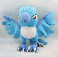 Free Shipping 18cm Pokemon Ice Bird Doll Plush Toy Doll Bird
