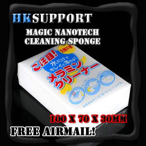 Magic Melamine Sponge Cleaning Eraser Cleaner 20pcs(China (Mainland))