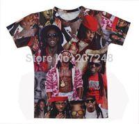 2015 New high quality Women's Men's Short Sleeve T shirt Fashion  Wayne 3D t shirt S M L XL XXL