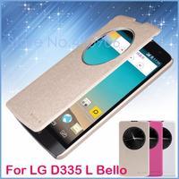 Original Nillkin For Lg D335 (L Bello) Case Genuine Leather Case Smart Leather Case For Lg D335 (L Bello) Free Shipping