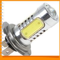 380LM 7.5W H7 5 LED Car Fog Parking Light Bulb Foglights Bright White LED Auto Car Fog Lamp Foglamp