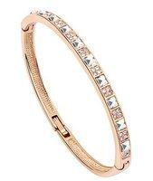 Cuff Bracelets 18k Gold Plated Bangles Brand Fashion Jewelry For Women