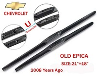 """A+ Auto accessories Soft Rubber WindShield car Wiper blade blades 2pcs/PAIR 21"""" 18"""" for chevrolet epica 2008 years ago"""