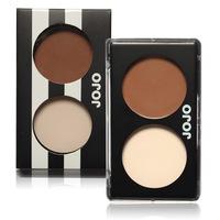 JOJO Matte Bronzer Dou Shadow & Light Bronze Pressed Powder Palette Perfector Brand Makeup Maquiagem