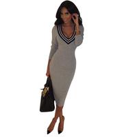 FreeShipping Fashion Women Slim Bodycon Party  Evening Dress Formal Sheath Dresses