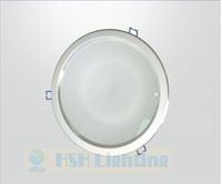 """24W 8"""" 2400lm led downlight cool white/warm white AC85-265V led lamp  2years  warranty CE&RoHS"""
