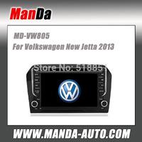 Manda 2 din car sat nav for VW New Jetta 2013 in-dash head unit car multimedia system