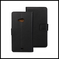50 pcs/lot For Microsoft Lumia 535 Case Wallet Leather Stand Case for Microsoft Lumia 535