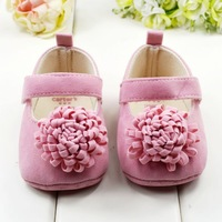 2015 New Festival flower 0-1 years newly born infant baby girls first walkers kid bebe sapato jane shoes Hot