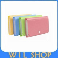Free shipping A6 mini expanding 12 file bag bill bag datagram briefcase data packet