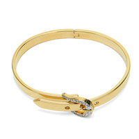 100% authentic,Free Shipping,Fashion Jewelry JCR Pave Buckle Skinny Bangle Gold,Hot Selling